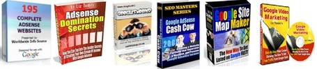Thumbnail Mega PLR MRR Packs - The Webmaster's Google Package