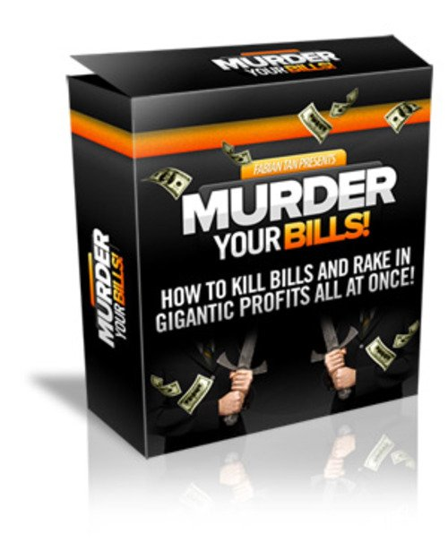 Product picture Murder Your Bills Package