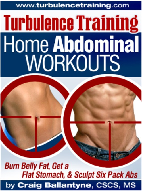 Product picture Turbulence Training Home Abdominal Workout